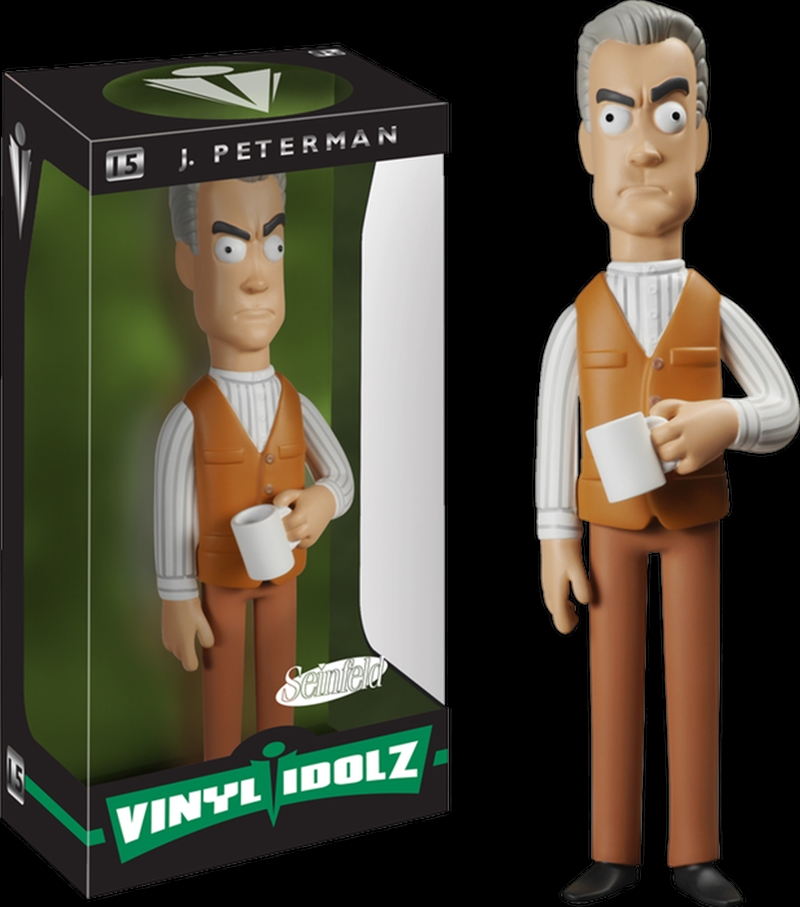 Seinfeld - Mr. Peterman Vinyl Idolz | Merchandise
