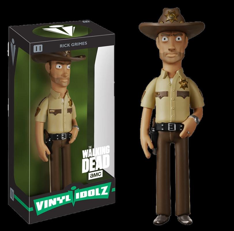 The Walking Dead - Rick Grimes Vinyl Idolz | Merchandise