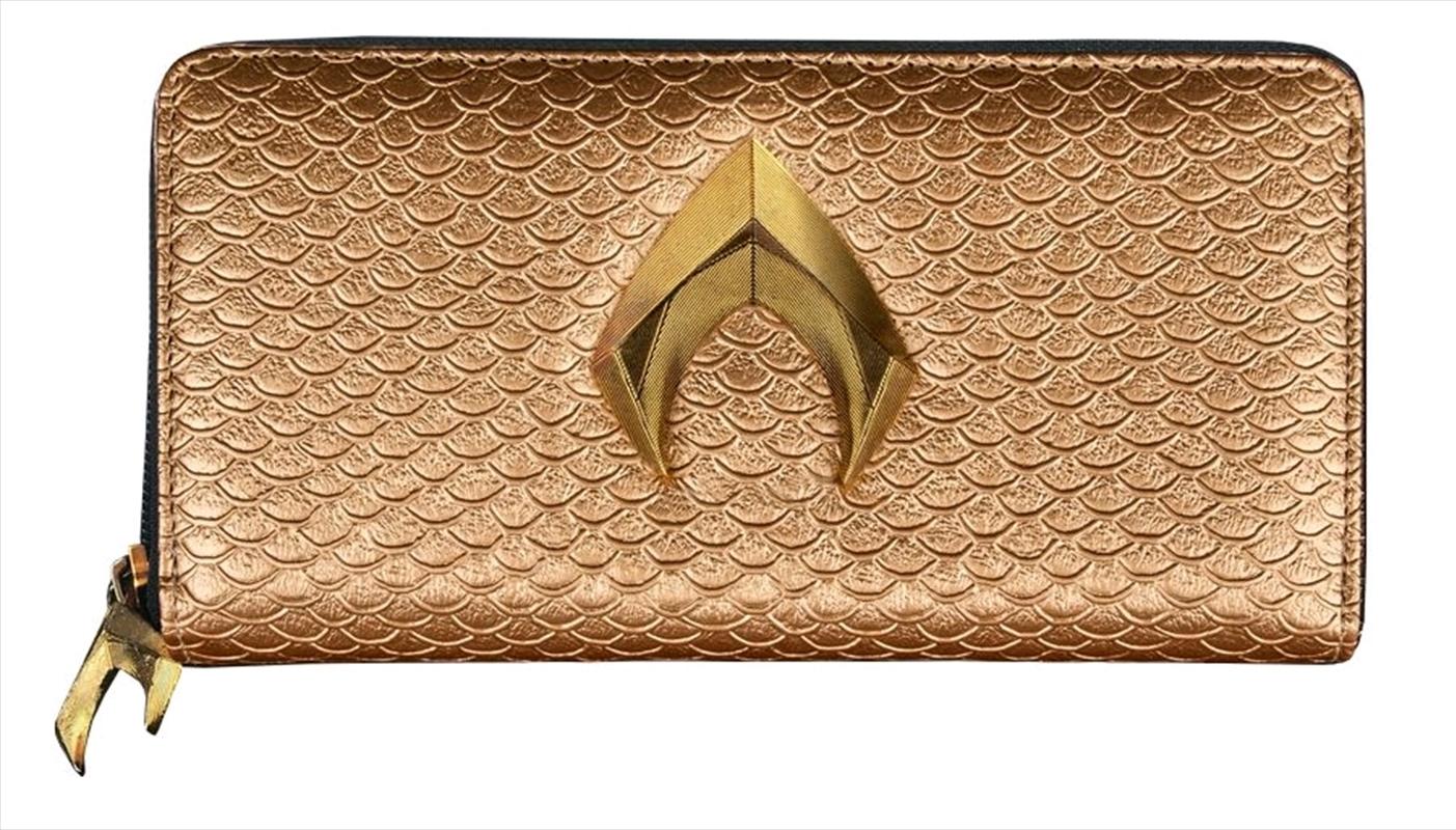 Justice League Movie - Aquaman Clutch Wallet | Apparel