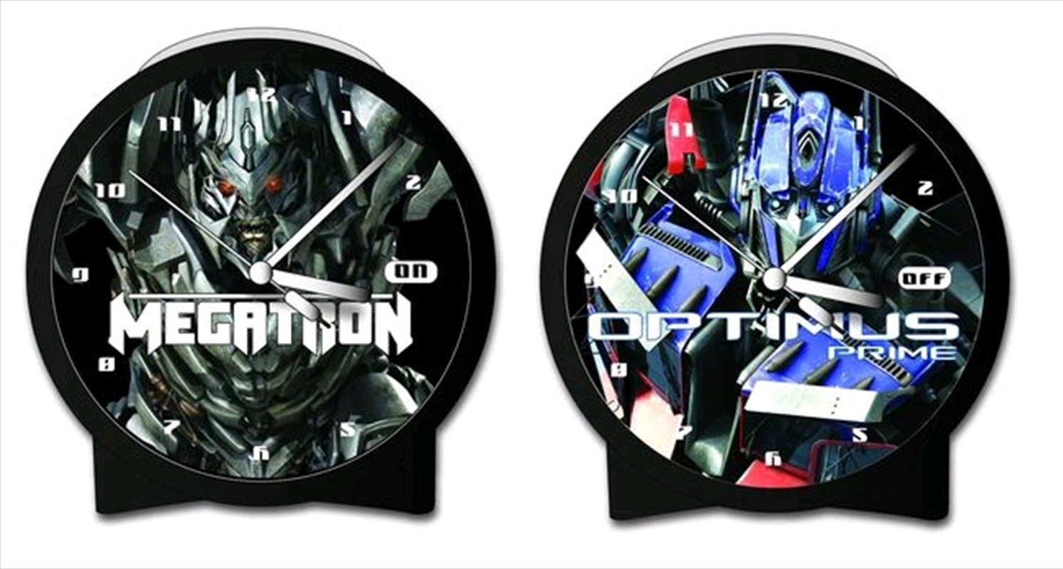 Transformers: Revenge of the Fallen - Optimus/Megatron Len Alarm Clock | Apparel
