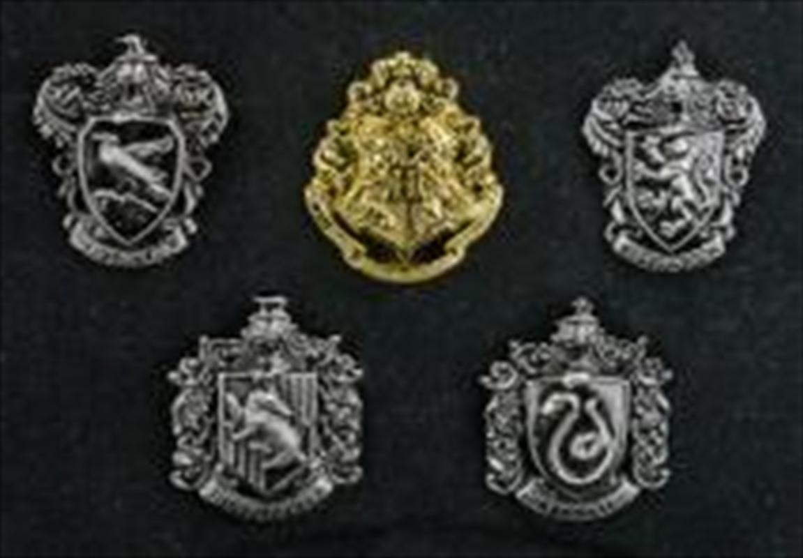 Harry Potter - House Crest Lapel Pin Set | Merchandise