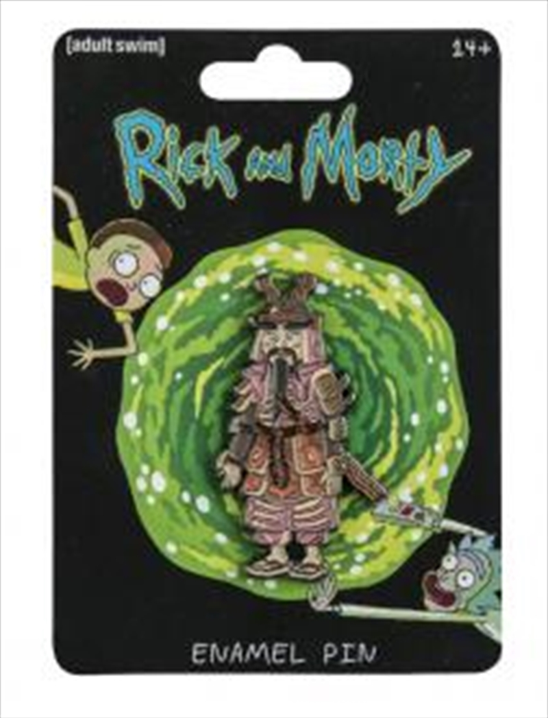 Rick and Morty - Hamurai Enamel Pin | Merchandise