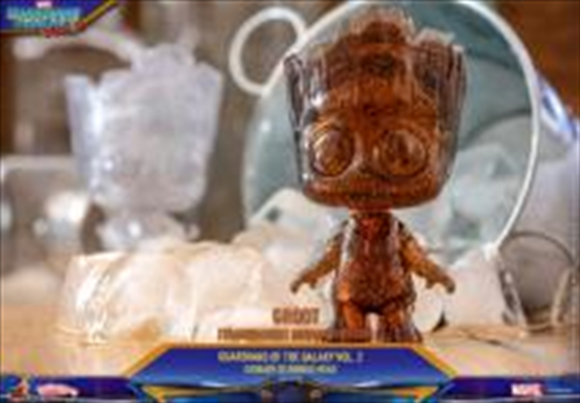 Guardians of the Galaxy: Vol. 2 - Groot Transparent Brown Cosbaby   Merchandise