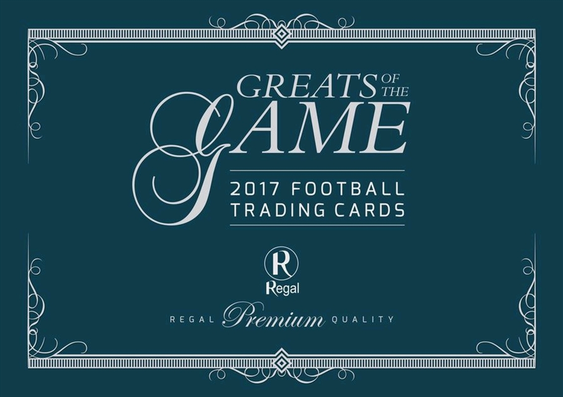 Aussie Rules - 2017/18 Regal Greats of the Game Hobby Box | Collectable