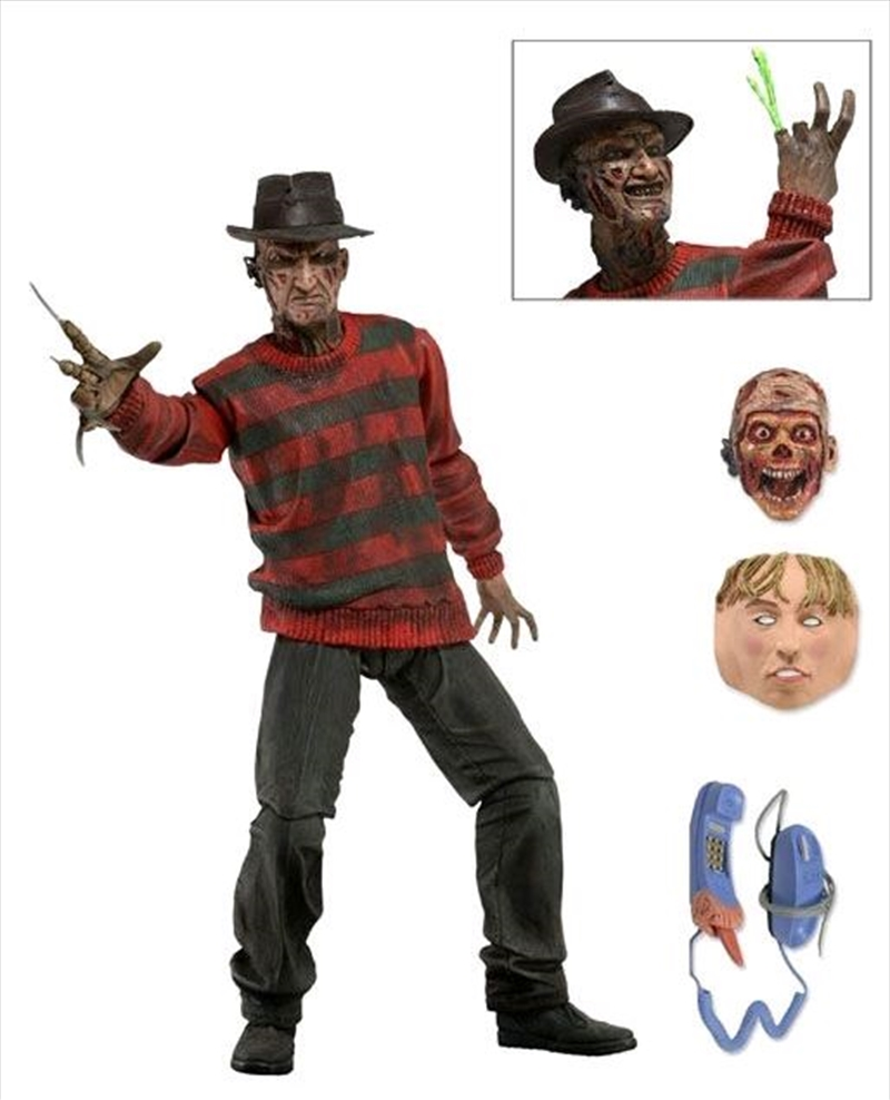 """A Nightmare on Elm St - 7"""" Freddy 30th Anniversary Action Figure   Merchandise"""