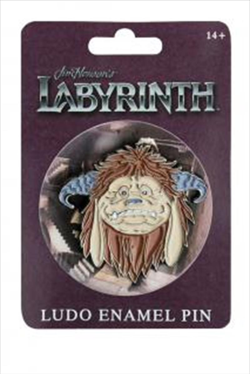 Labyrinth - Ludo Enamel Pin | Merchandise