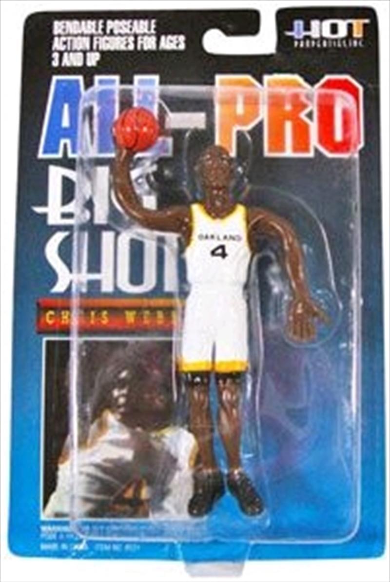 NBA - Chris Webber Bendable Figure   Merchandise