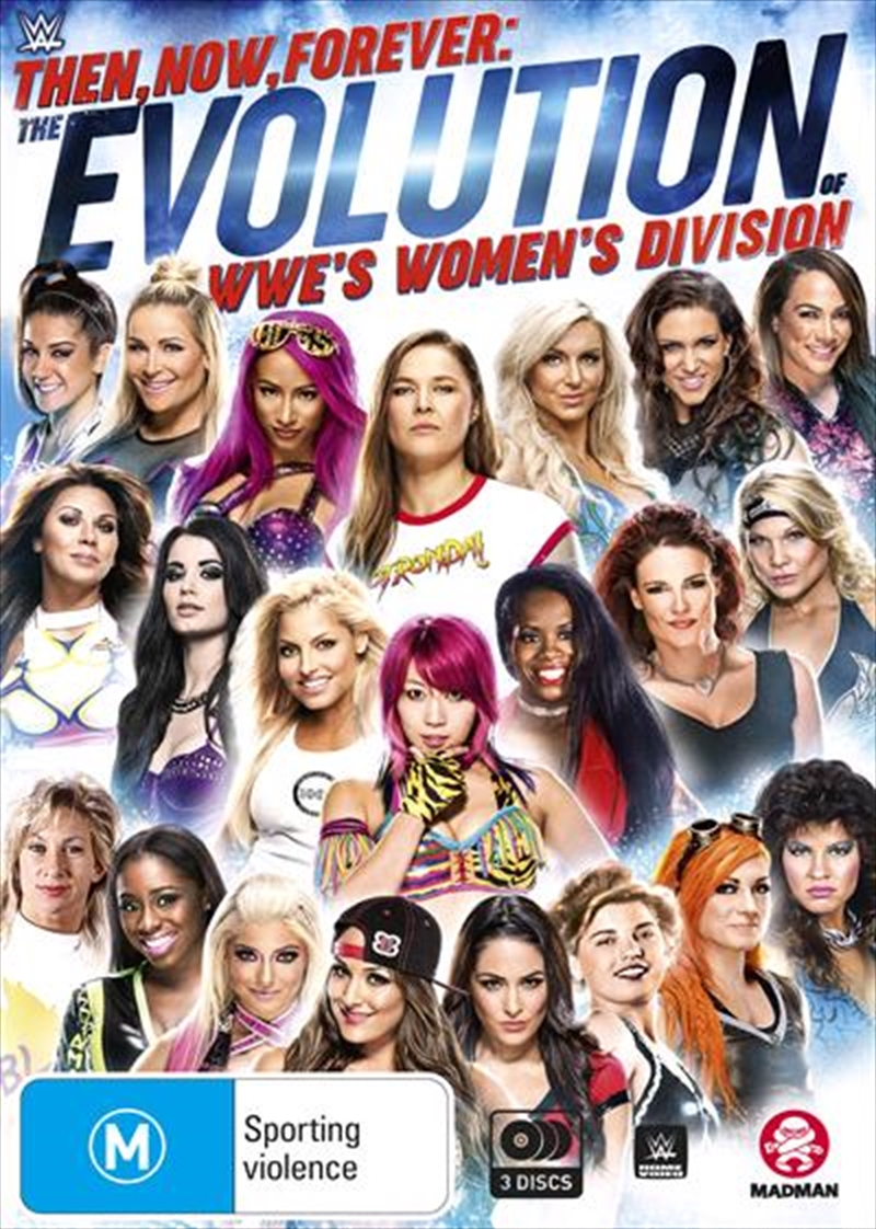 WWE - Then, Now, Forever - The Evolution Of WWE's Women's Division | DVD