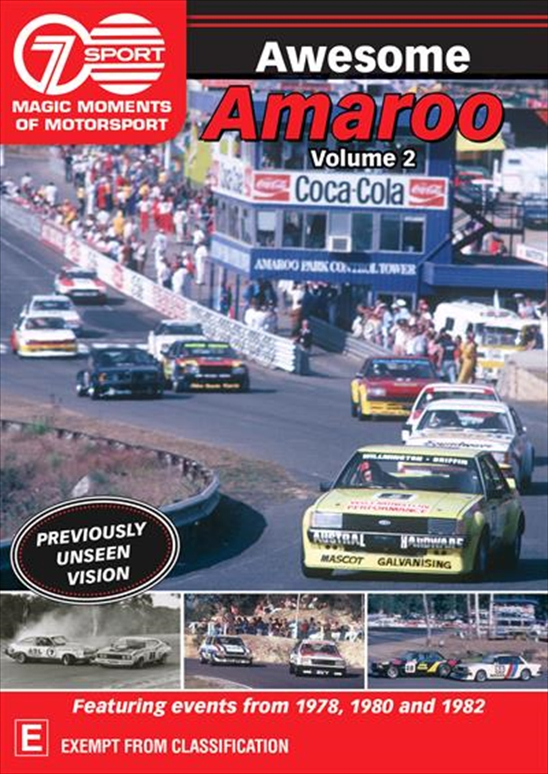 Magic Moments Of Motorsport - Awesome Amaroo - Vol 2 | DVD