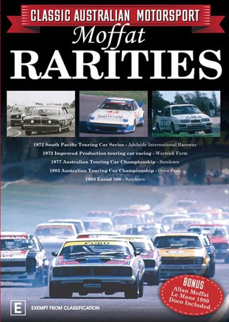 Moffat Rarities - Classic Australian Motorsport - Vol 3 | DVD