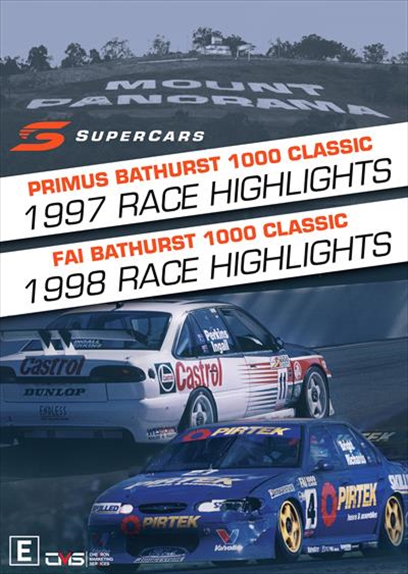 V8 Supercars - 1997/1998 Bathurst 1000 Highlights | DVD