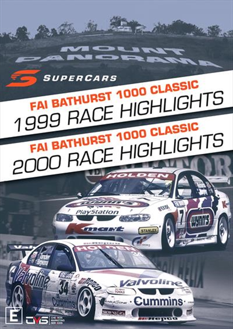 V8 Supercars - 1999/2000 Bathurst 1000 Highlights | DVD