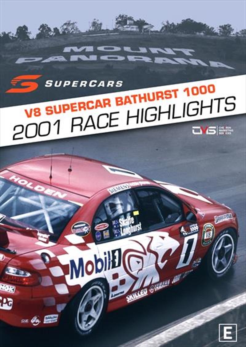 V8 Supercars - 2001 Bathurst 1000 Highlights | DVD