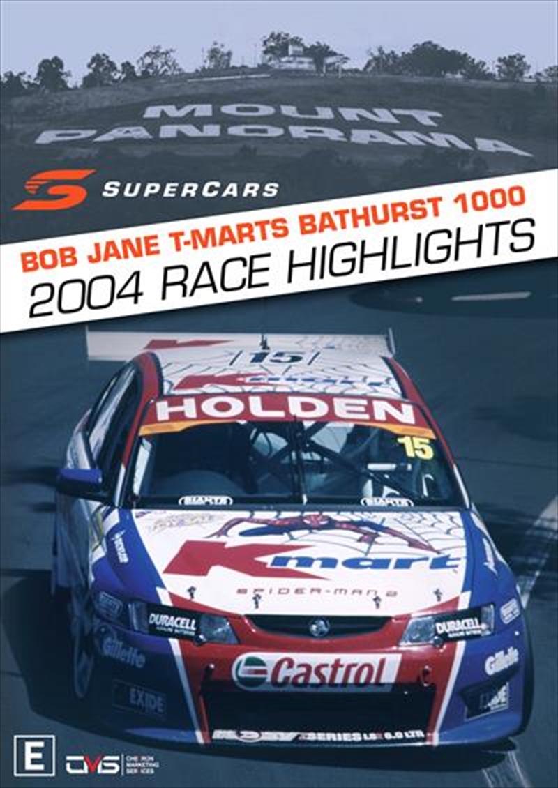 V8 Supercars - 2004 Bathurst 1000 Highlights   DVD