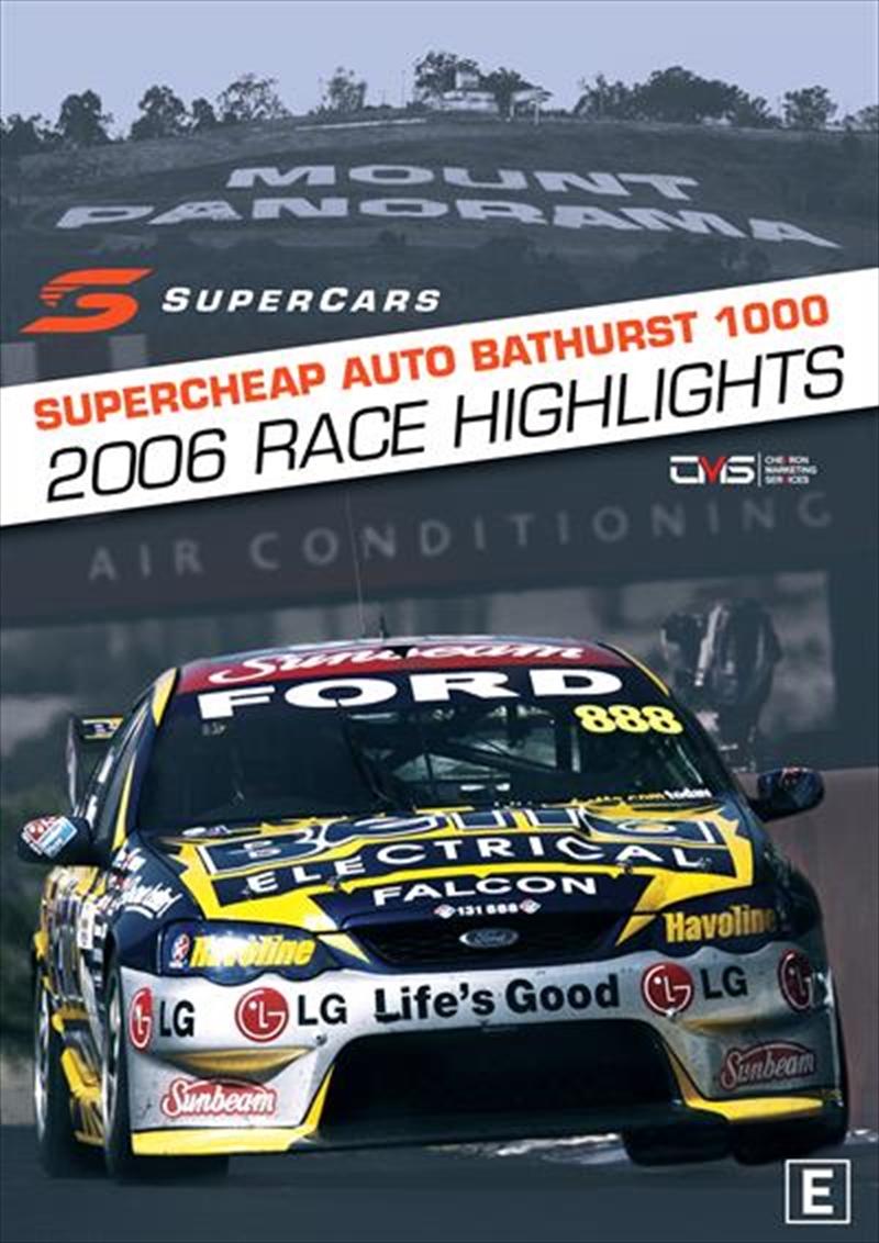 V8 Supercars - 2006 Bathurst 1000 Highlights | DVD