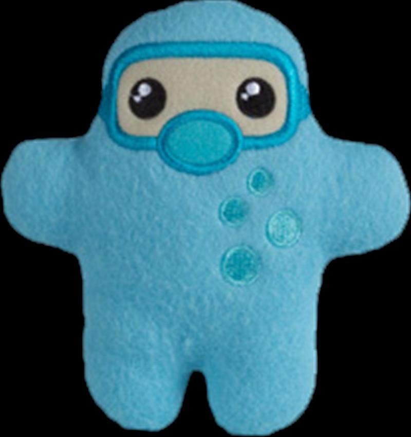 """Shawnimals - Pocket Aqua Ninja 4"""" Plush   Toy"""