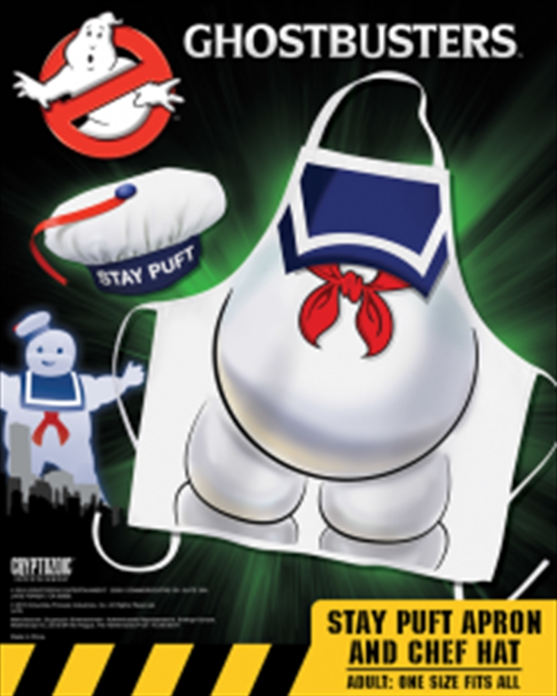 Ghostbusters - Stay Puft Apron & Hat Set | Miscellaneous