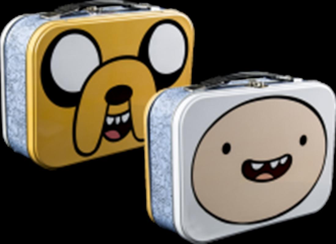 Adventure Time - Jake & Finn Face Lunchbox | Lunchbox
