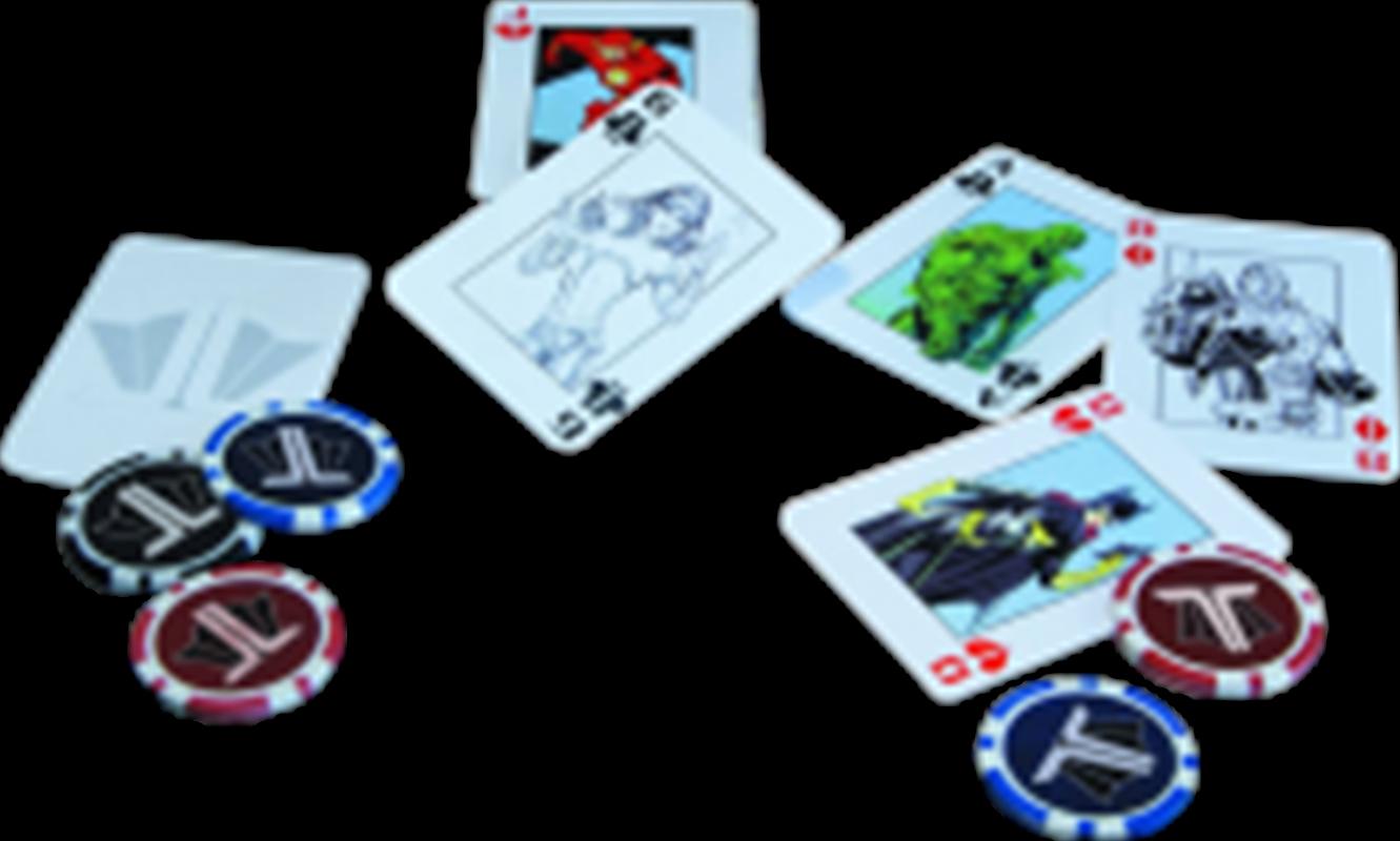 Justice League - Starter Poker Set | Merchandise