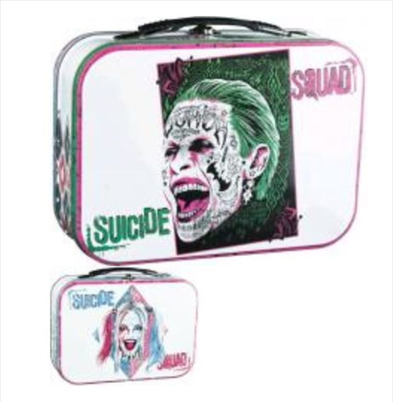 Suicide Squad - Harley and Joker Lunchbox | Lunchbox