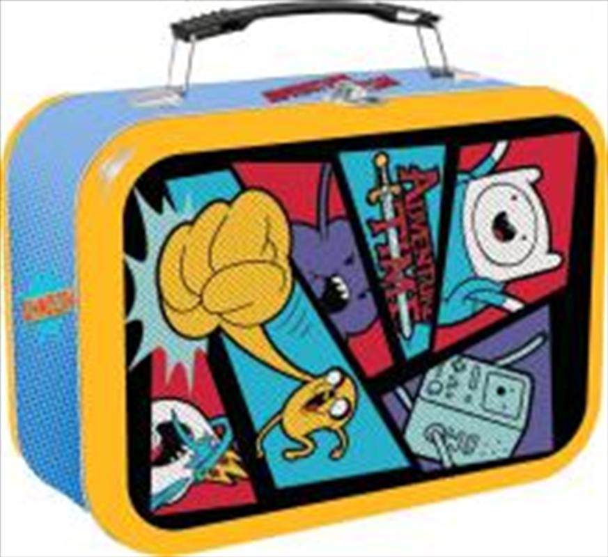 Adventure Time - Comic Book Halftone Lunchbox | Lunchbox