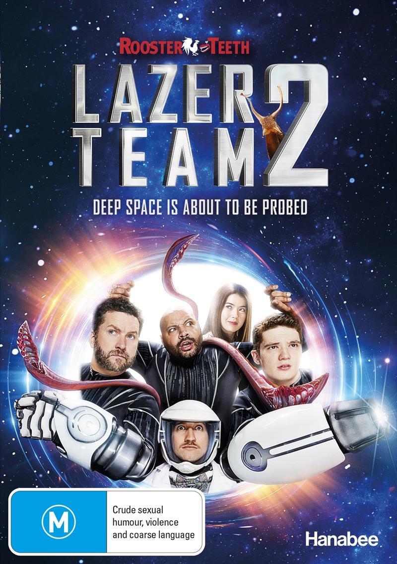 Lazer Team 2   DVD
