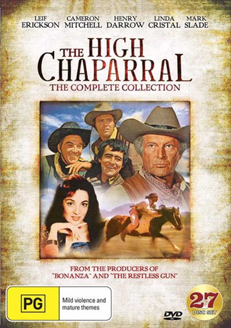 High Chaparral Series Collection, The | DVD