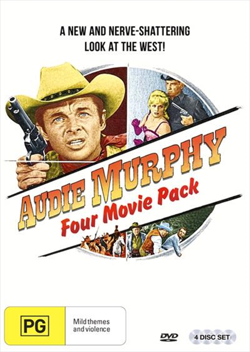 Audie Murphy 4 Pack | DVD