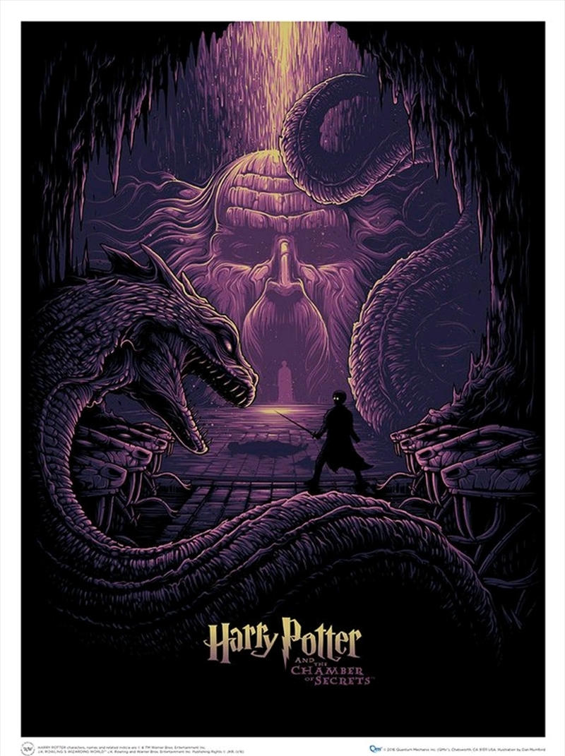 Harry Potter - & the Eyes of the Basilisk Art Print | Collectable