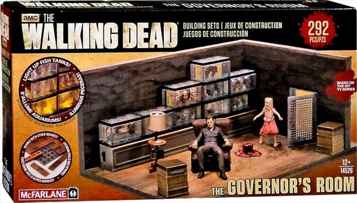 The Walking Dead - The Governor Room Building Set | Collectable