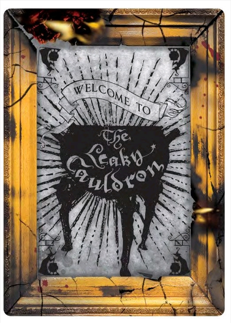 Harry Potter - Leaky Cauldron Small Tin Sign | Collectable