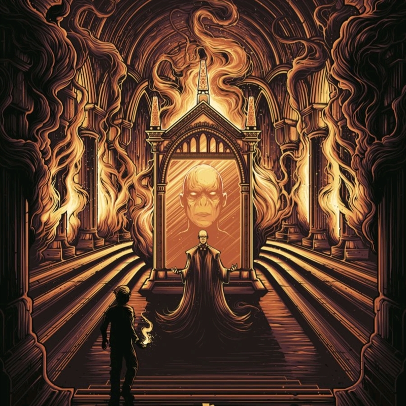 Harry Potter - Harry Potter and the Mirror of Erised Art Print | Collectable