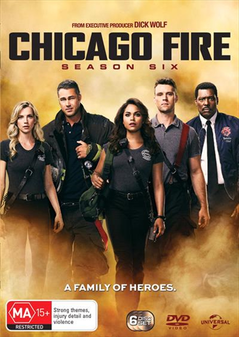 Chicago Fire - Season 6 | DVD