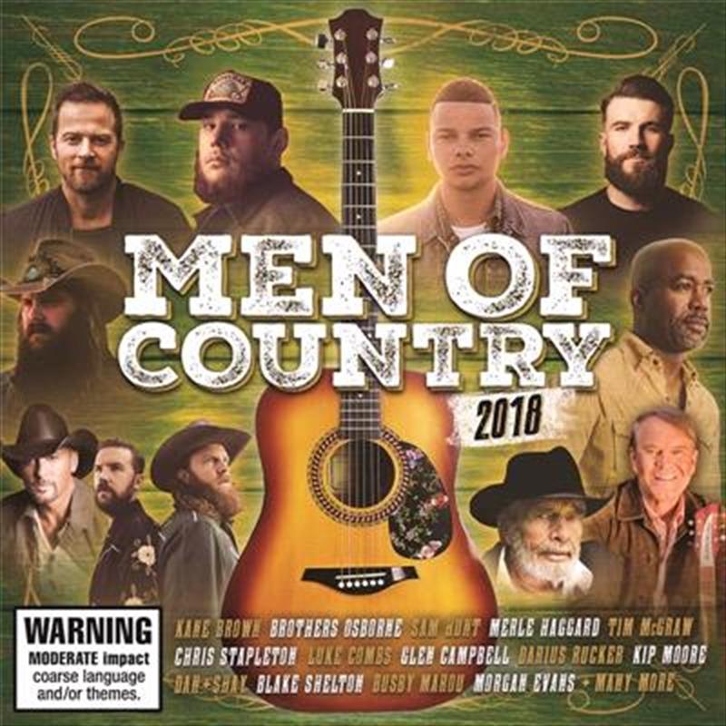 Men Of Country 2018 | CD
