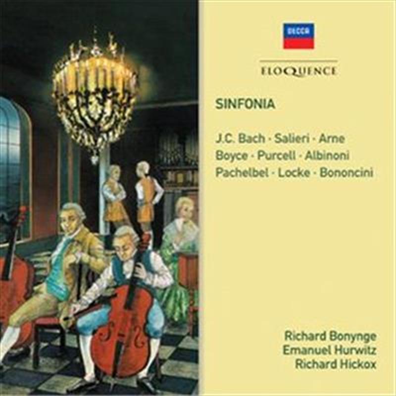 Sinfonia - Salieri, J.C. Bach, Arne, Purcell, Albinoni, Pachelbel   CD
