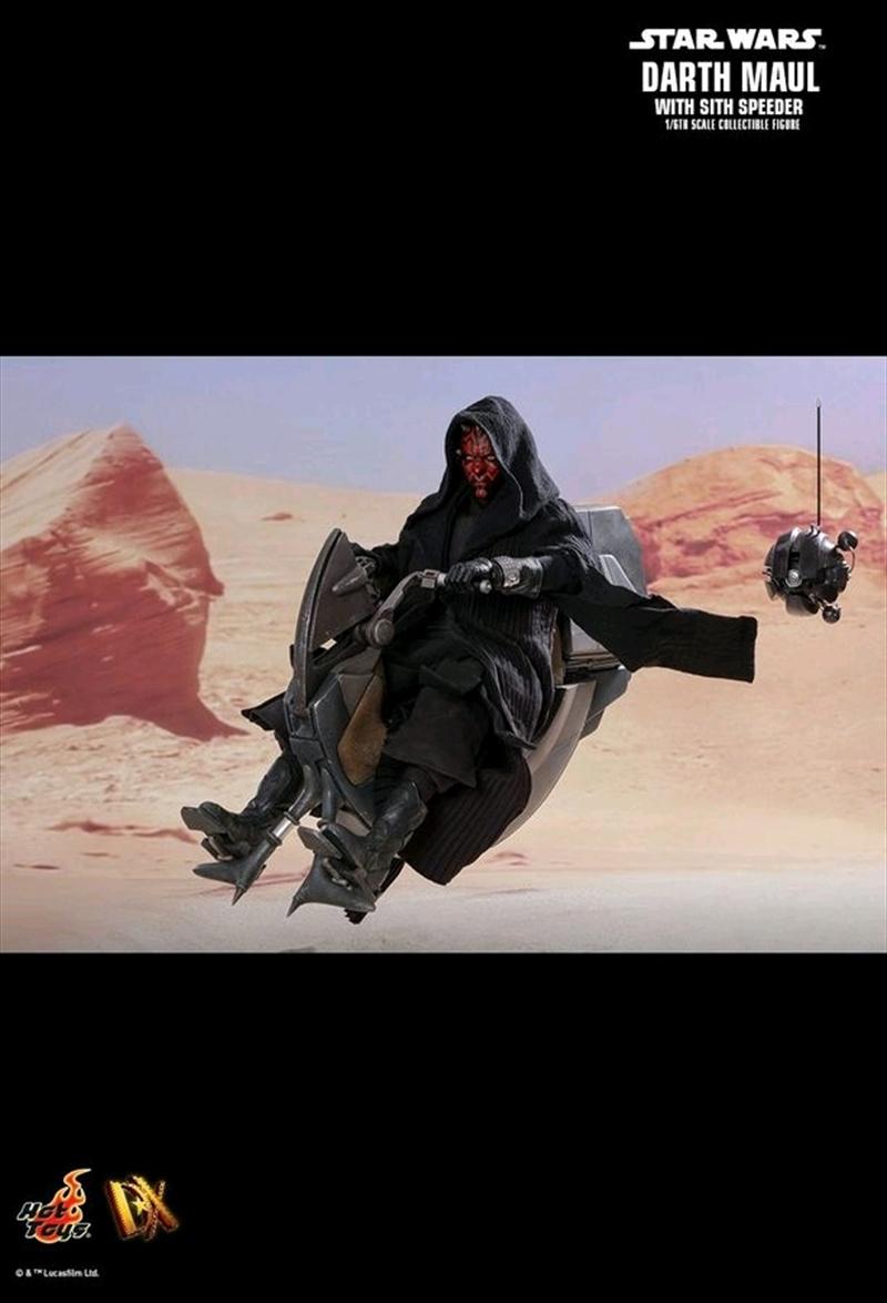 "Star Wars - Darth Maul with Sith Speeder Episode I ThePhantom Menace 12"" 1:6 Scale Action Figure | Merchandise"