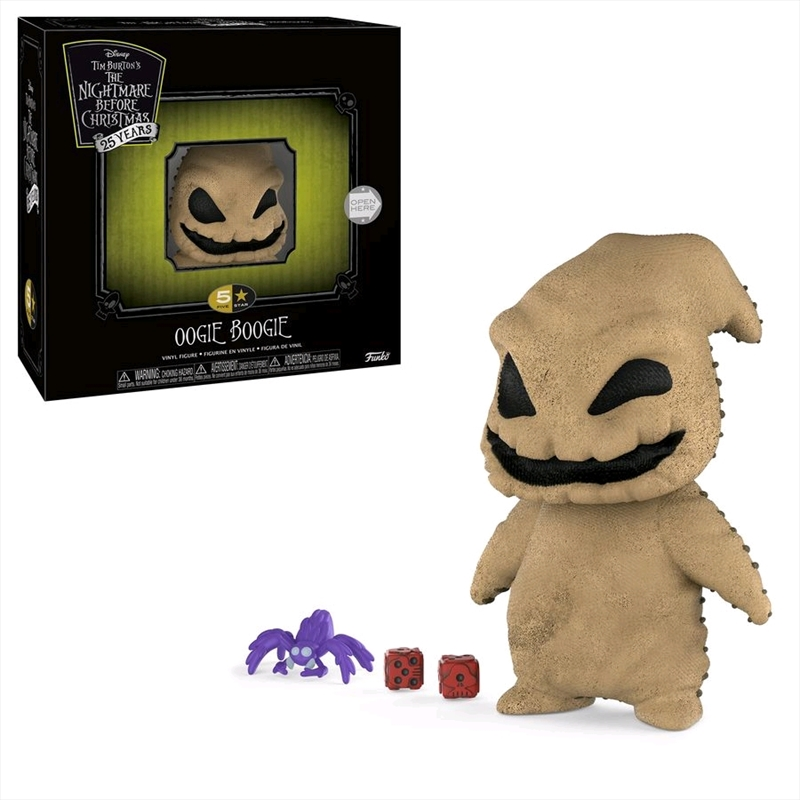 The Nightmare Before Christmas - Oogie Boogie 5-Star Vinyl Figure | Merchandise