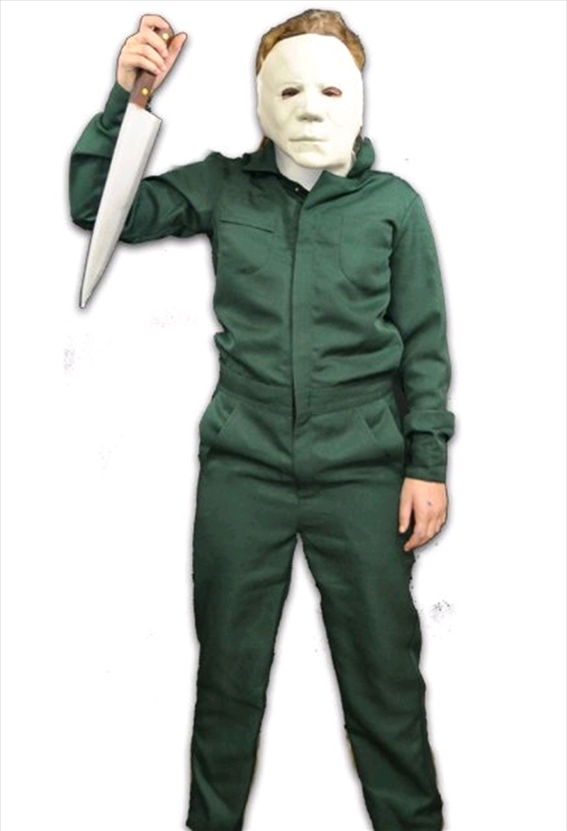 Halloween 2 - Coveralls Costume & Mask Combo Child | Apparel