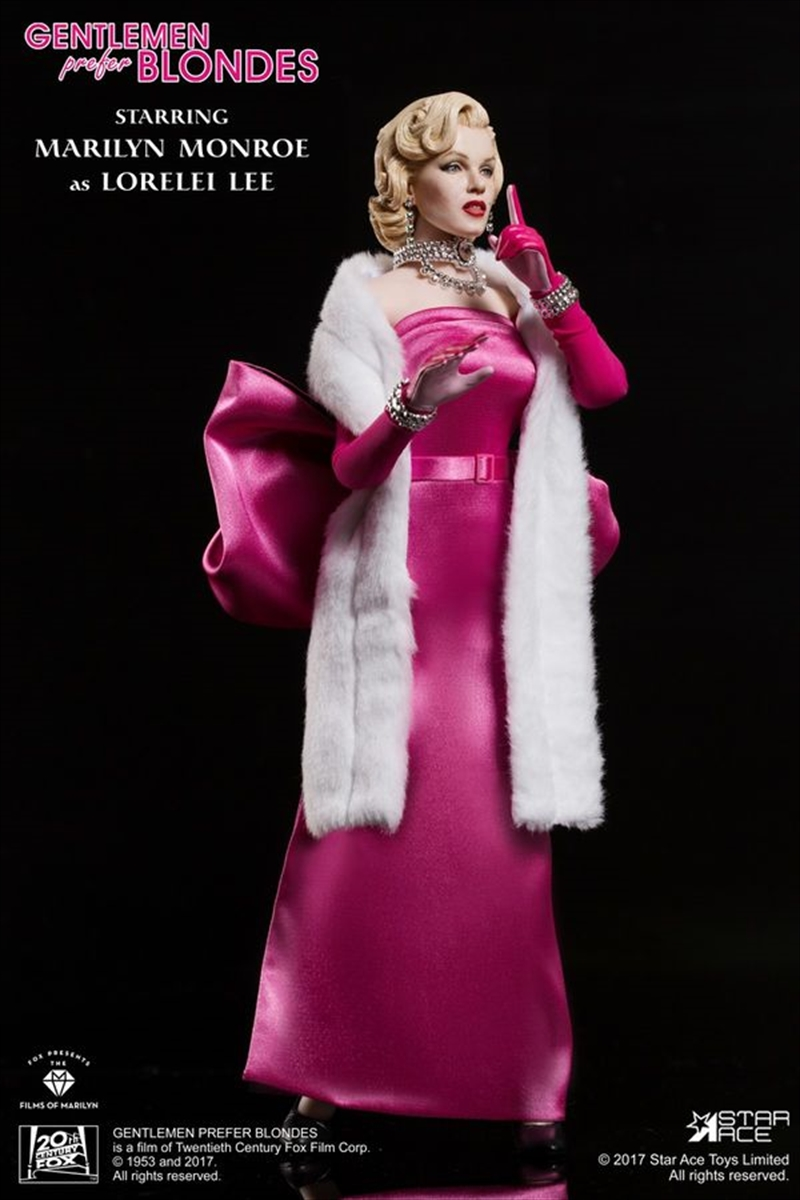 "Marilyn Monroe - Pink Dress 12"" 1:6 Scale Action Figure 