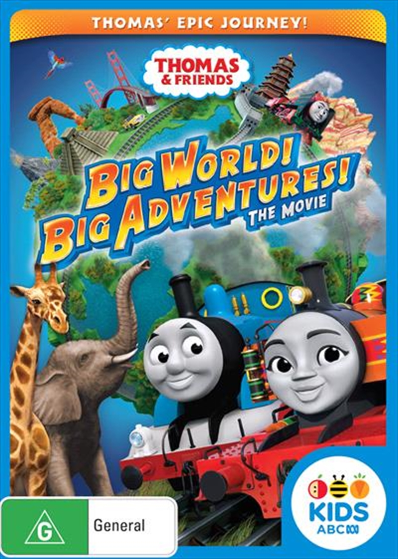 Thomas and Friends - Big World! Big Adventure! | DVD