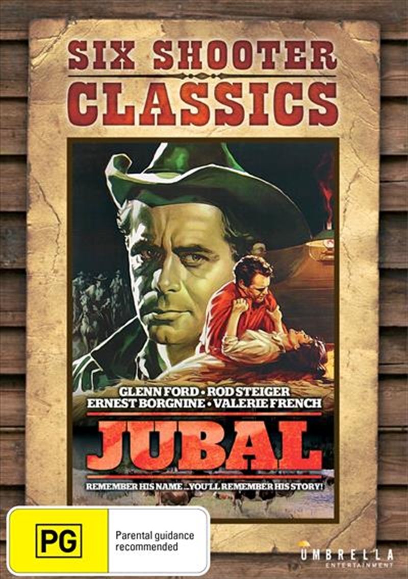 Jubal Six Shooter Classics | DVD