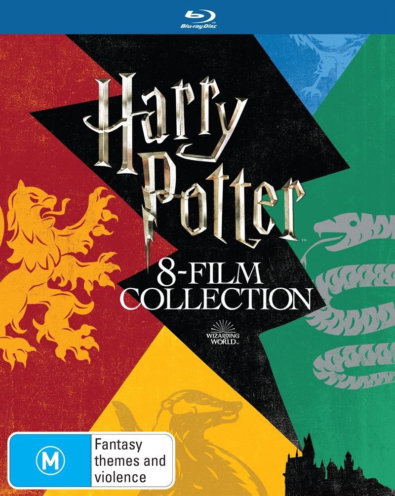 Harry Potter - Limited Edition - 8 Film Collection | Blu-ray