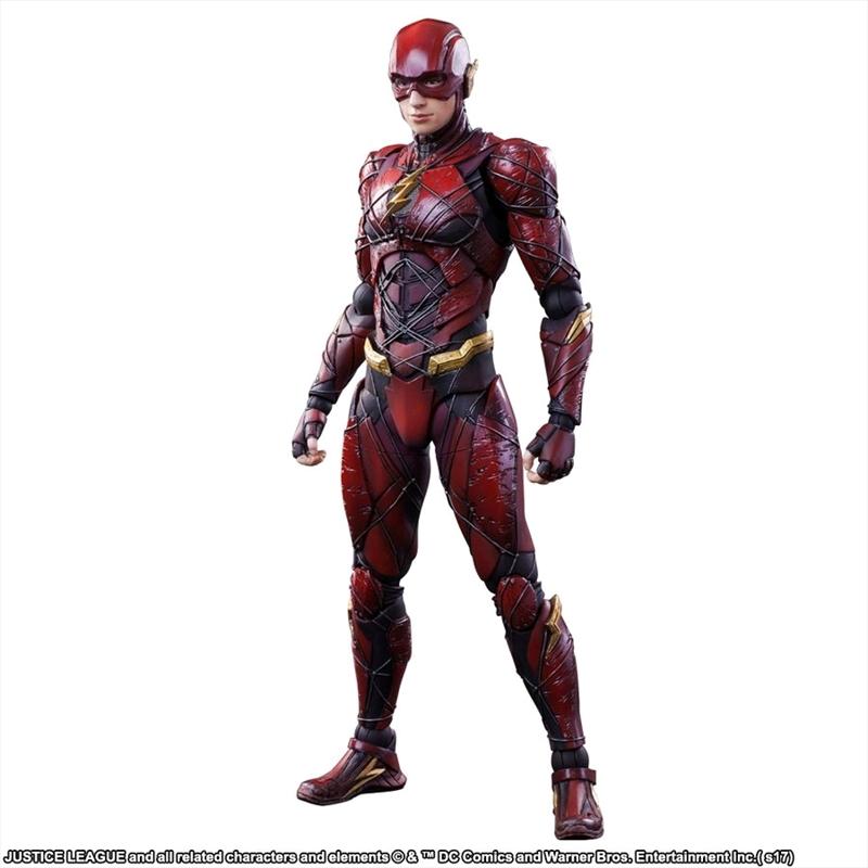 Justice League Movie - Flash Play Arts Action Figure | Merchandise
