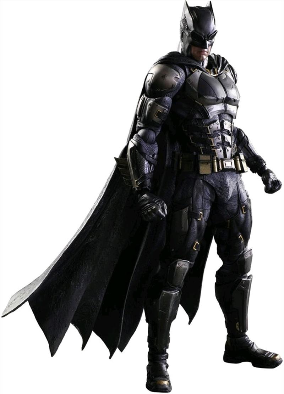 Justice League Movie - Batman Tactical Suit Play Arts Action Figure | Merchandise
