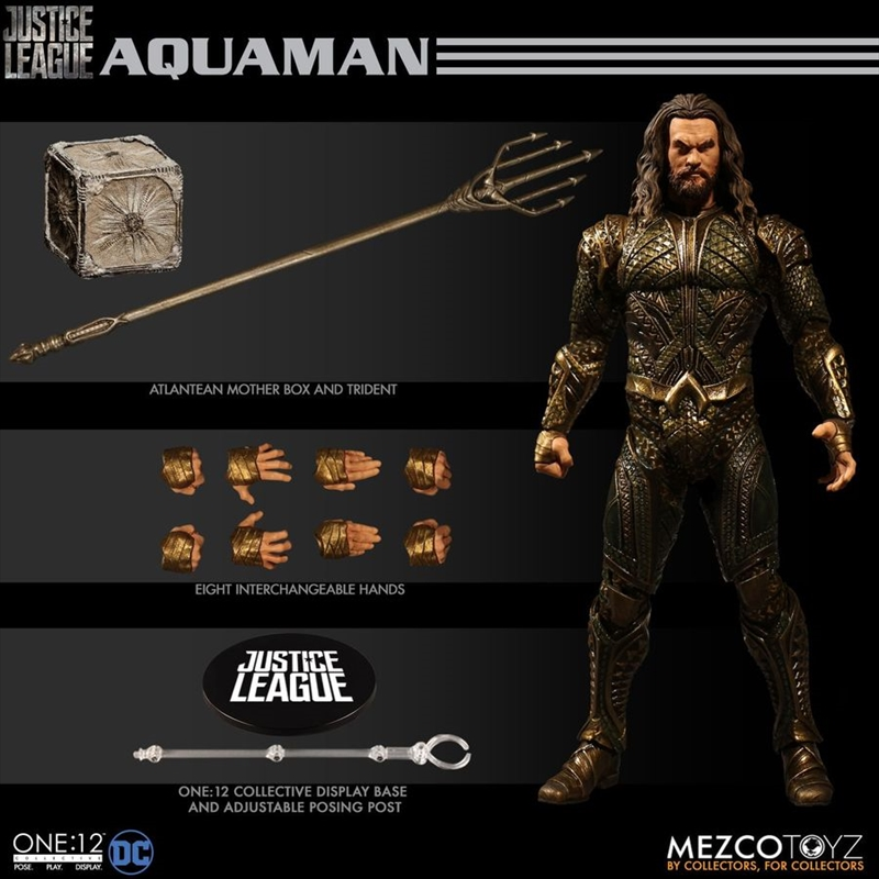 Justice League Movie - Aquaman One:12 Collective Action Figure | Merchandise