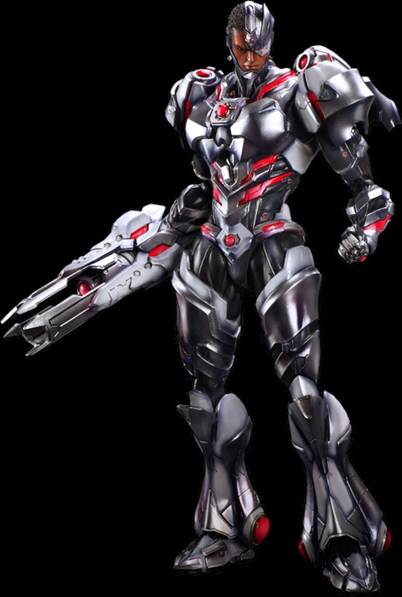 Justice League - Cyborg Play Arts Action Figure | Merchandise