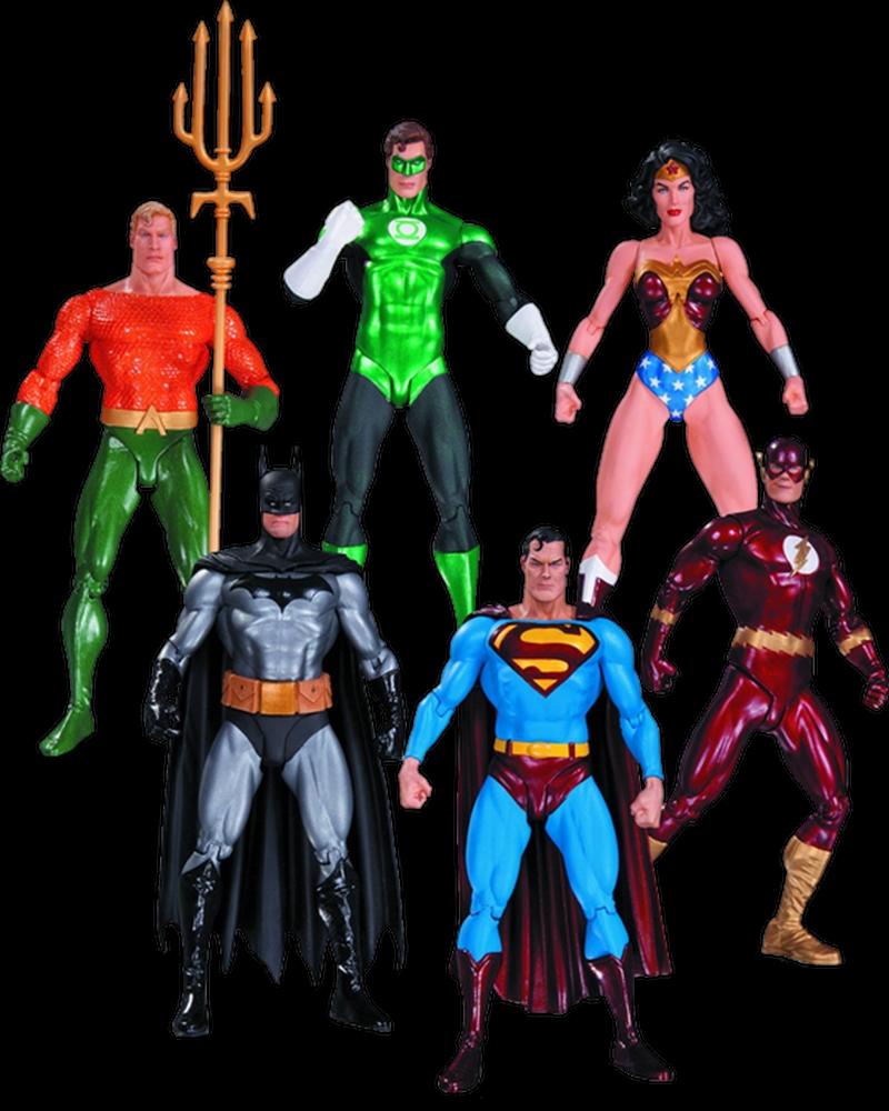 Justice League - Action Figures 6-Pack (Alex Ross) | Merchandise