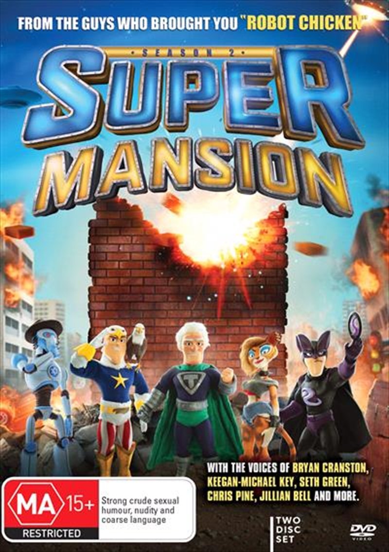 SuperMansion - Season 2 | DVD