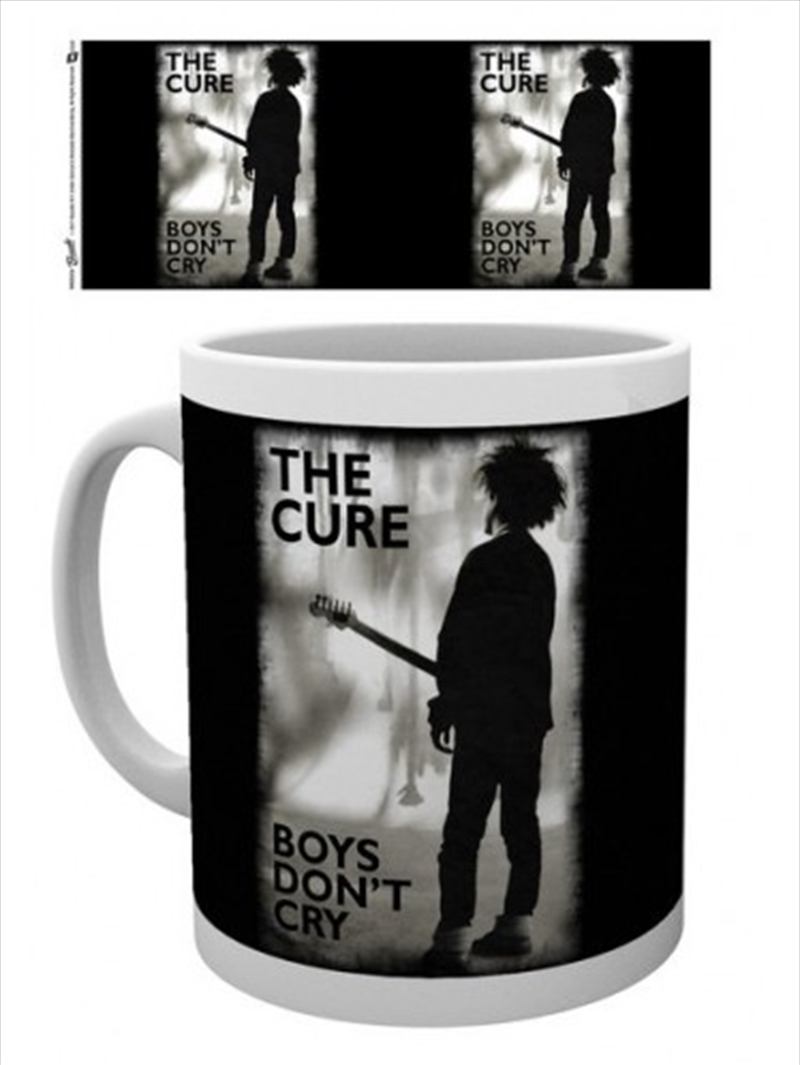 The Cure Boys Don't Cry Mug | Merchandise