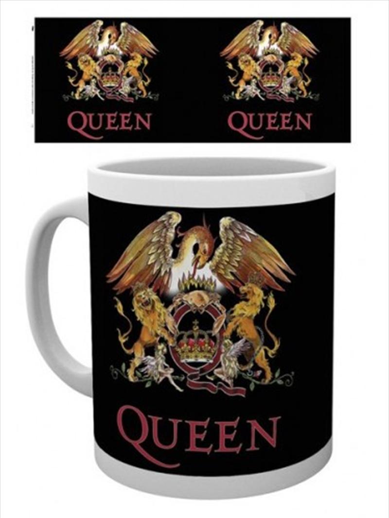 Queen Colour Crest Mug   Merchandise